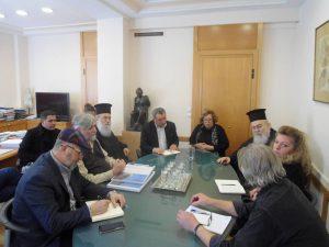 Σύσκεψη στο Υπουργείο Πολιτισμού, Ιαν. 2019